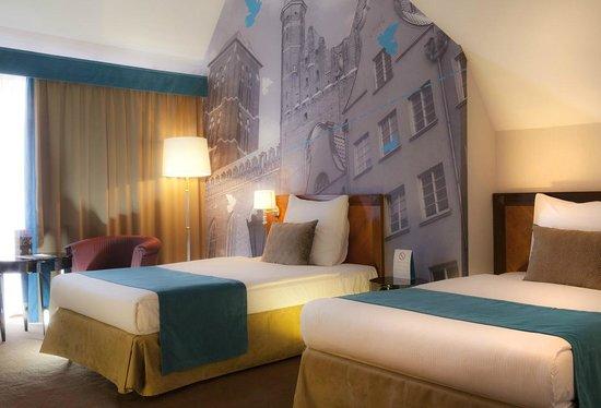 Hanza Hotel : Standard twin room