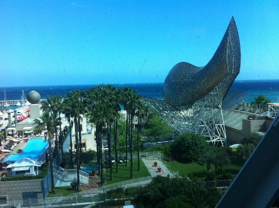 Hotel Arts Barcelona: View from our room