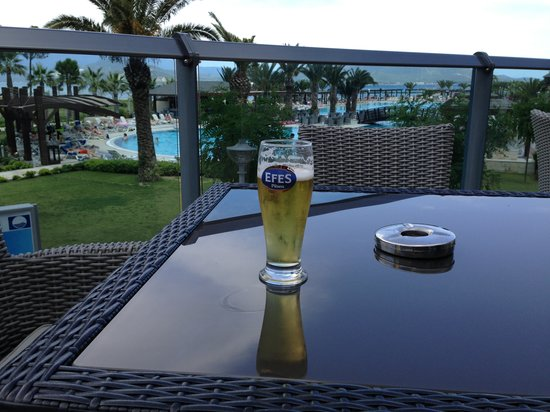 Venosa Beach Resort & Spa: Lovely efes and view over pool