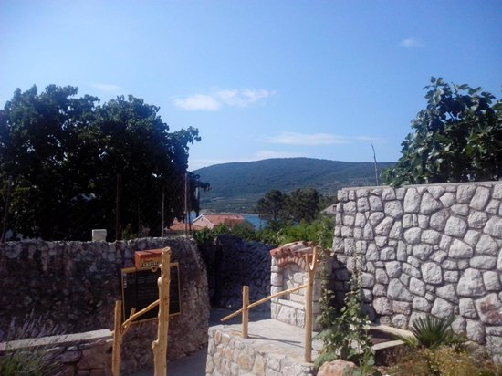 Villa Lavanda: Vista dal ristorante