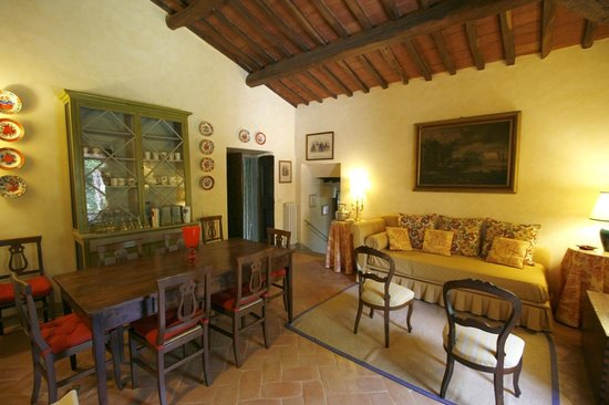 Villa il Trebbio - Soggiorno