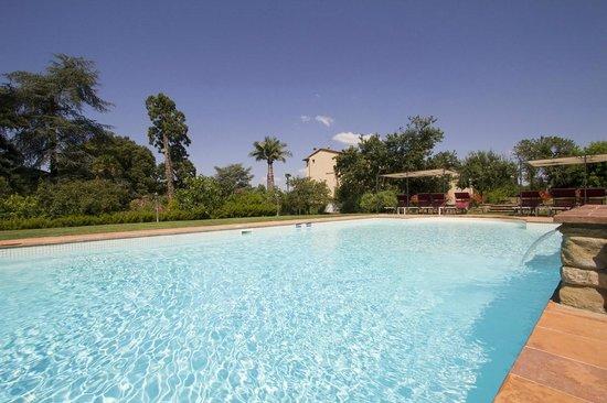 Villa il Trebbio - La piscina
