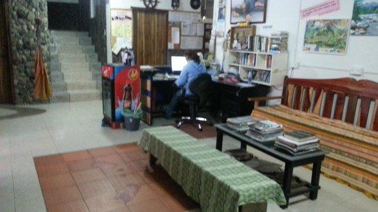 Hostal Chimenea: Recepção