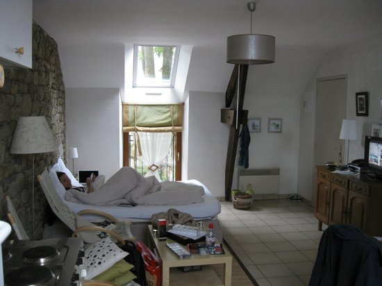 Ferme Saint Christophe: The room