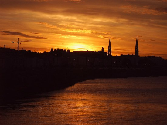 Haddington House : Dun Laoghaire in the evening after a wonderful sunny day