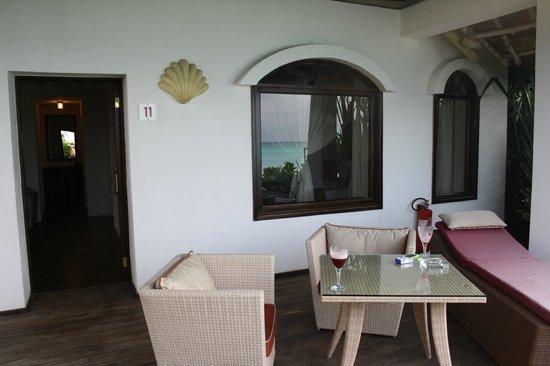 Essque Zalu Zanzibar: balconcino privato fronte mare