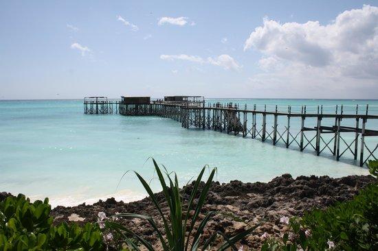 Essque Zalu Zanzibar: pontile sul mare