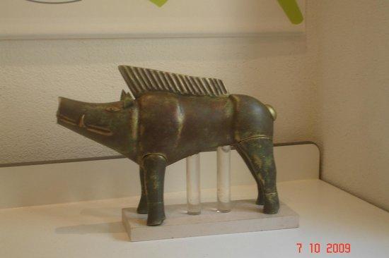 Musee Archeologique de Nice-Cimiez: Sanglier visible actuellement