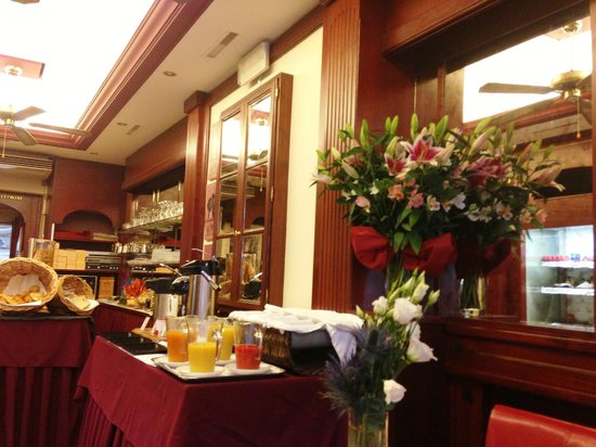 Hotel Admiral Geneva: Breakfast