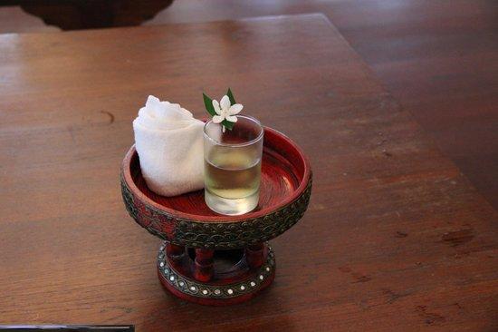 Sofitel Krabi Phokeethra Golf & Spa Resort: Welcome drink