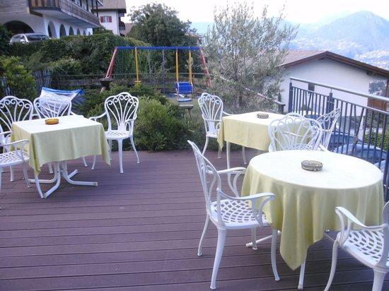 Hotel Maritschhof: Terrasse