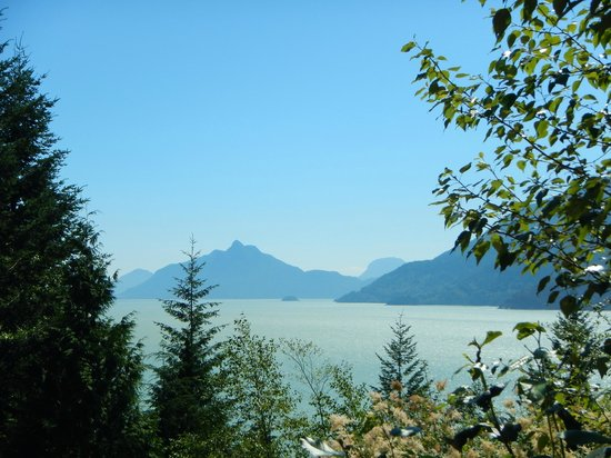 Sea to Sky Highway: Sea Views