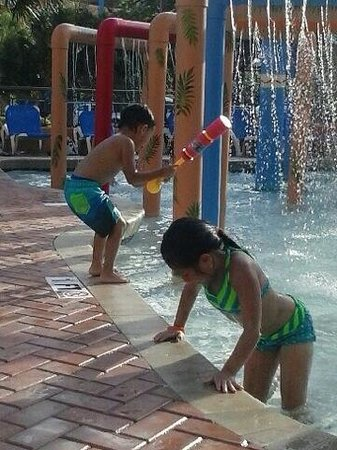 The Caravelle Resort: my kids having a blast of fun.