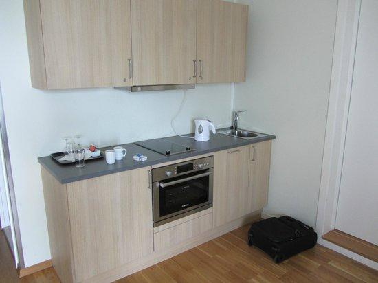 Holmestrand Fjordhotell: kitchen