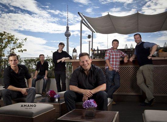 Rooftop BAR - Picture of Amano Bar, Berlin - TripAdvisor