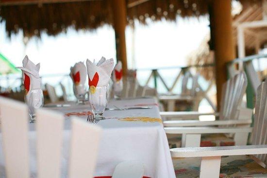 Port-Salut, Haiti: Dining room