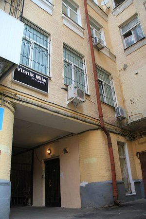 One Step Independence Square Hostel: Building in which One Step From Independence resides