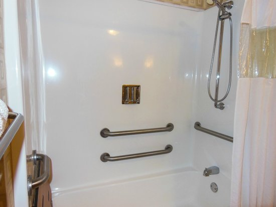BEST WESTERN PLUS Waynesboro Inn & Suites Conference Center: hand-held shower