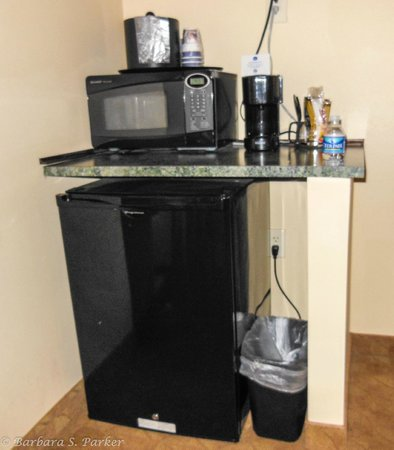 Best Western Plus Waynesboro Inn & Suites Conference Center : Refrigerator, microwave, coffee maker