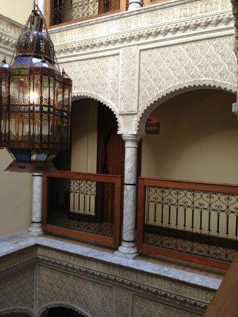 Alcoba del Rey de Sevilla Boutique Hotel: inner courtyard