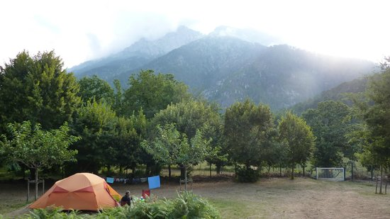 Camping U Monte Cintu : magnifique