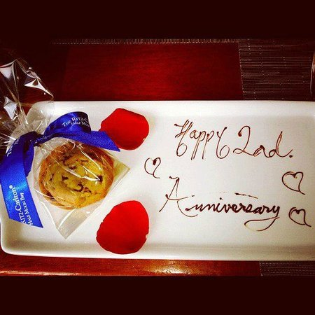Our anniversary at The Navio