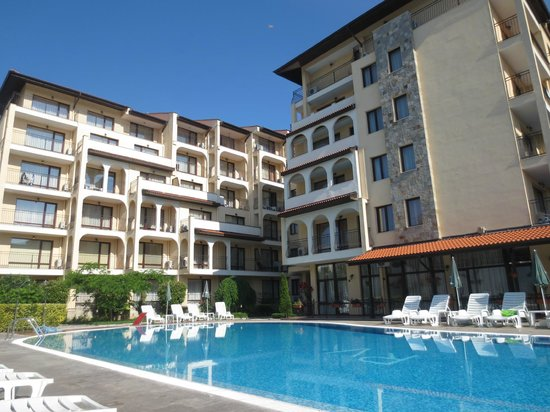 Rose Village Apartments: The Main Pool and Appartments