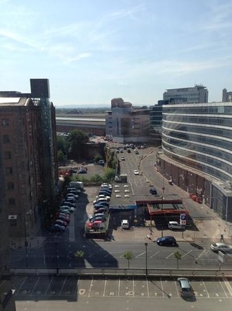 Premier Inn Manchester City Centre (Piccadilly) Hotel: View from room 801
