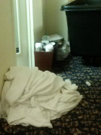 DoubleTree by Hilton Nashville-Downtown: This is the quality of our roomservice