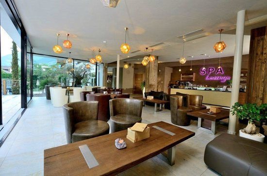 Hotel Stroblhof: Spa Lounge