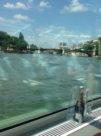 Paris en Scene : view from my club armchair facing the Seine