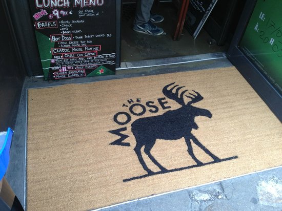 The Moose : entree du moose