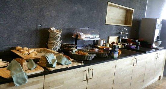 Hotel de l'Ecluse: Buffet petit déjeuner