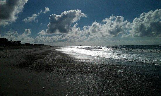 Islander Inn & Suites : Beach walk at 8 a.m.