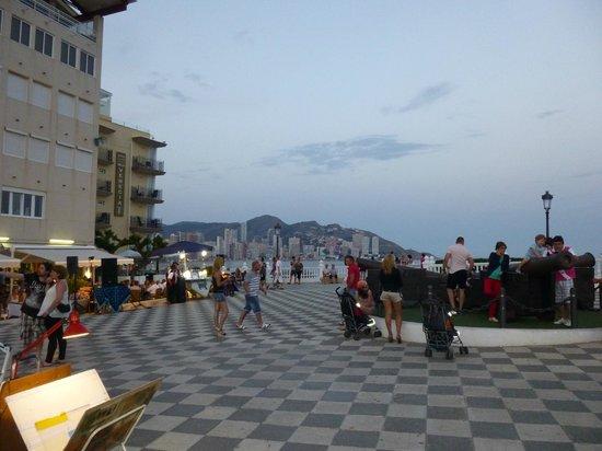Balcon del Mediterraneo : piazzale
