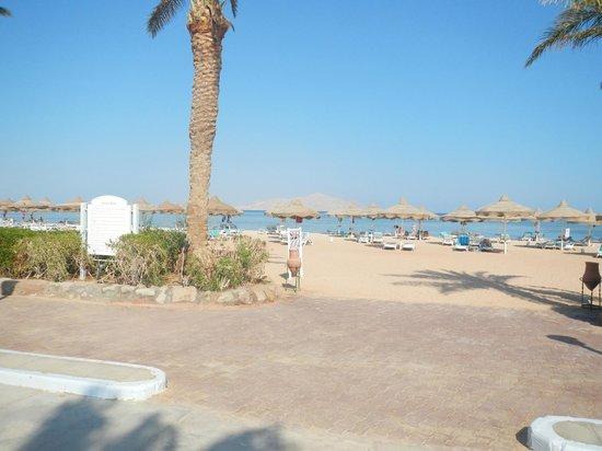 Baron Resort Sharm El Sheikh: la strada per andare alla spiaggia