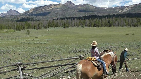 T Cross Ranch: Leaving the corral
