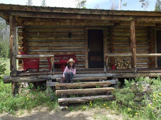 T Cross Ranch: Cabin