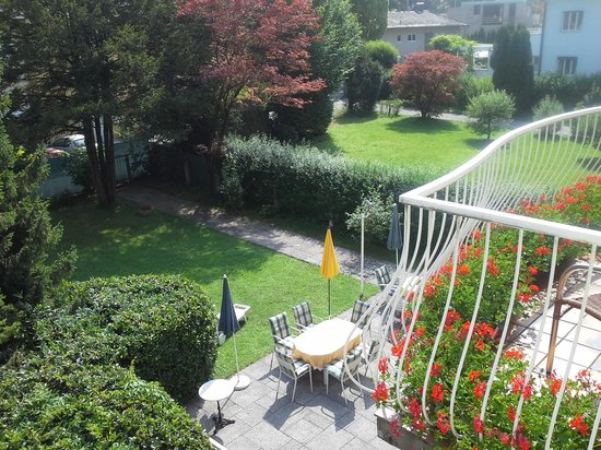 Gästehaus Scheck: Garten