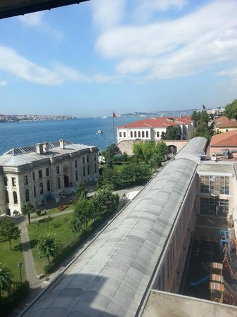Radisson Blu Bosphorus Hotel, Istanbul: View from room 625