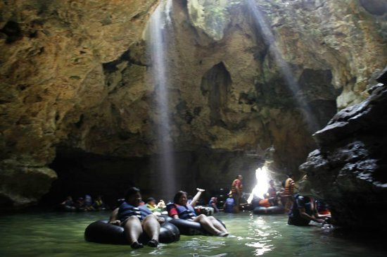 Cave Tubing Goa Pindul: a part of inside pindul cave