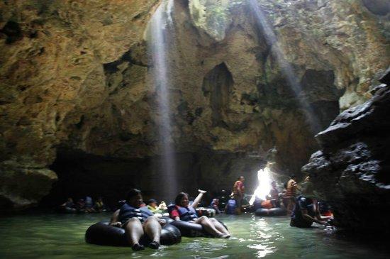 Gunung Kidul, Indonesia: a part of inside pindul cave
