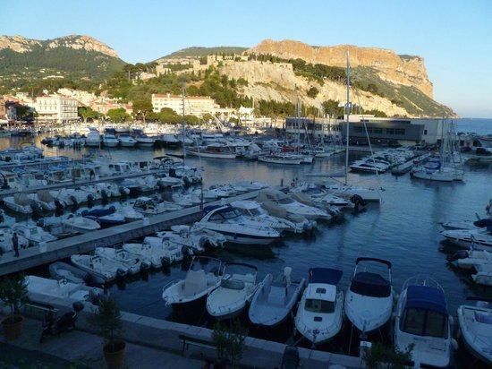 Hotel Le Golfe : View from our room