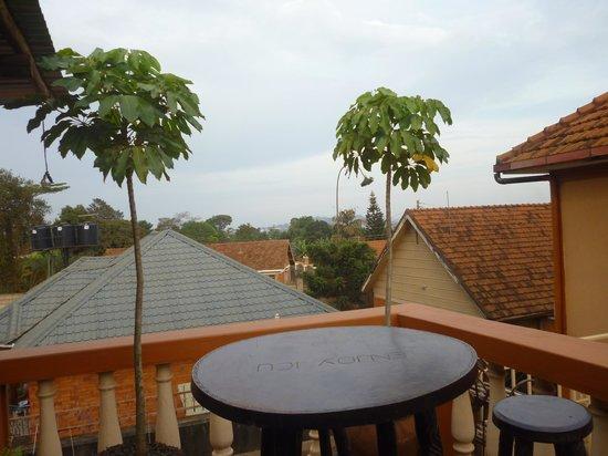 ICU Guesthouse: Uitzicht vanuit het guesthouse