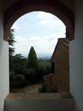 La Bandita Hotel Siena: panorama dalla stanza