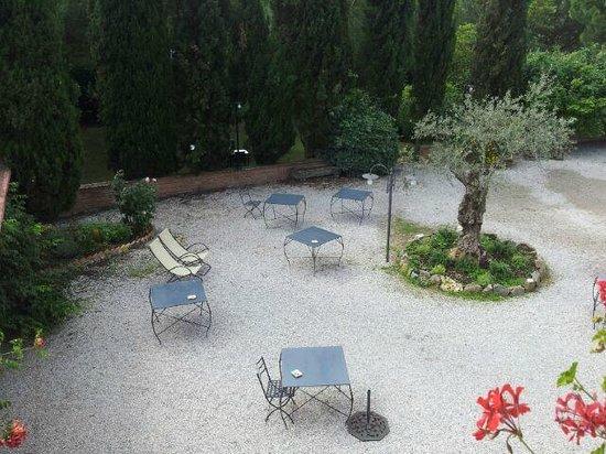 La Bandita Hotel Siena: una parte del giardino