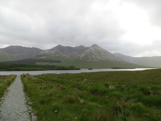 Lough Inagh Lodge: One View from the Lodge....