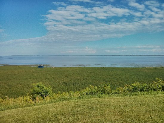 Long Point Provincial Campground: bay side of long point