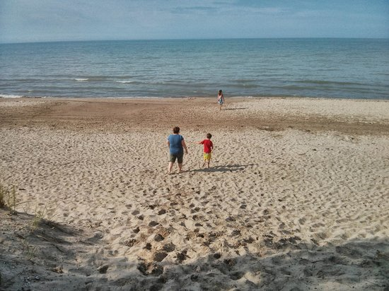 Long Point Provincial Campground: Long Point Beach