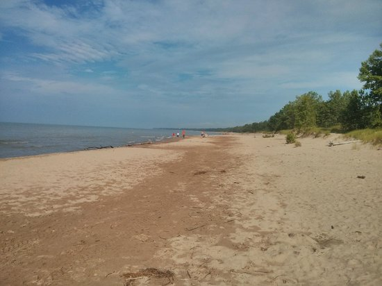 Long Point Provincial Campground: Looking West